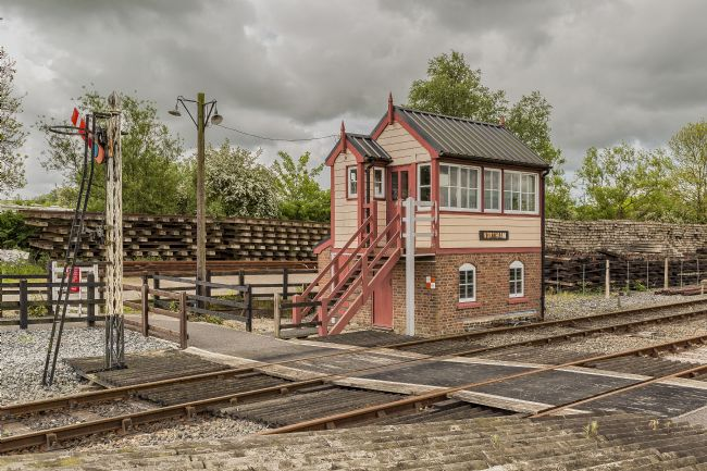 pauline tims | Northiam Station Signal Box