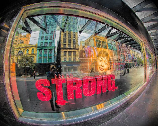 pauline tims | Strong on Bourke Street