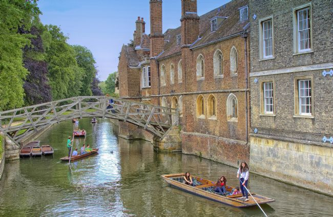 pauline tims | Mathematical Bridge Cambridge UK