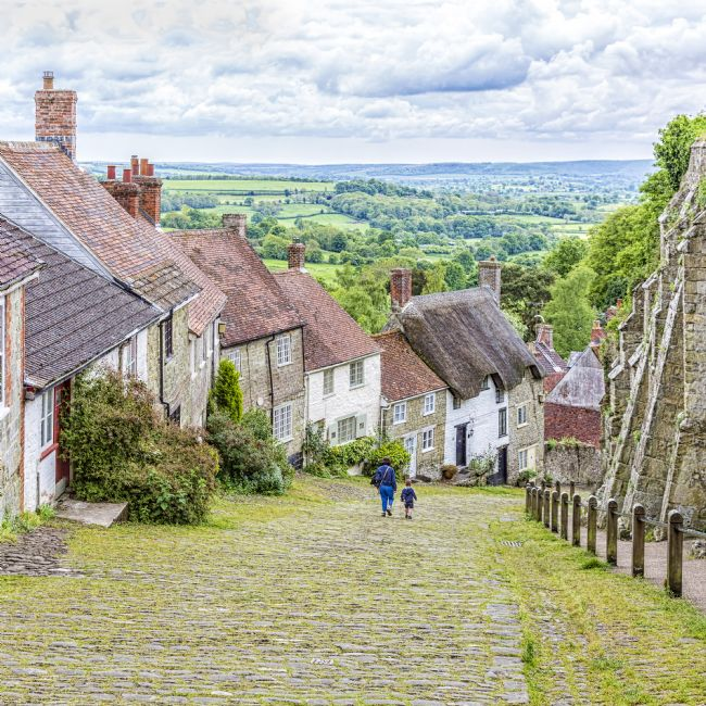pauline tims | Gold Hill, Shaftesbury, Dorset, UK