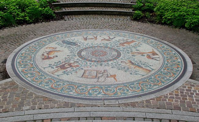 pauline tims | Chester Civic Trust Golden Jubilee Mosaic
