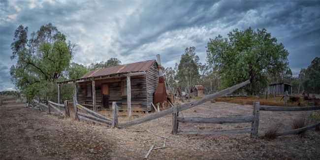 Pauline  Tims | Old Miner's cottage at Costerfield , Victoria, Australia