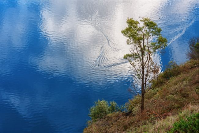 Pauline  Tims | The Blue Lake Mount Gambier , South Australia
