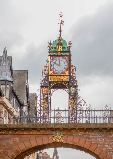 pauline tims | Chester Town Clock
