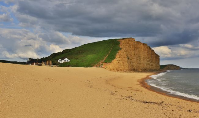 pauline tims | East Cliff, West Bay Dorset, UK