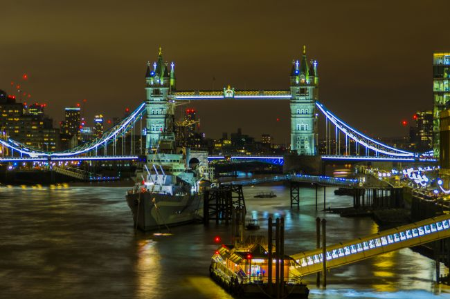 Niels Richards | Tower Bridge & HMS Belfast