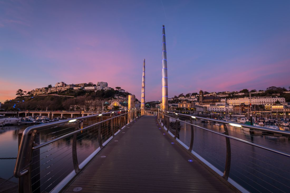 Tracey Yeo | Torquay Harbour Sunset