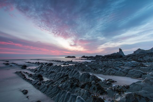 Tracey Yeo | North Devon Sunset