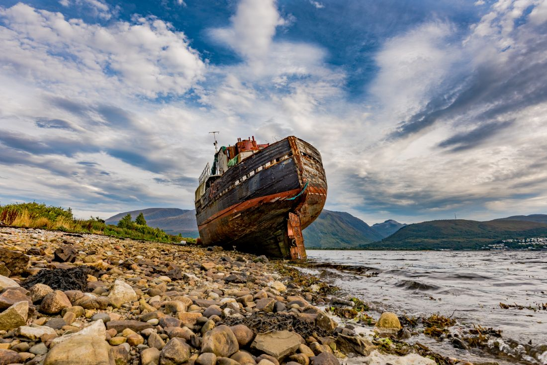 Nick Rowland | Corpach Wreck