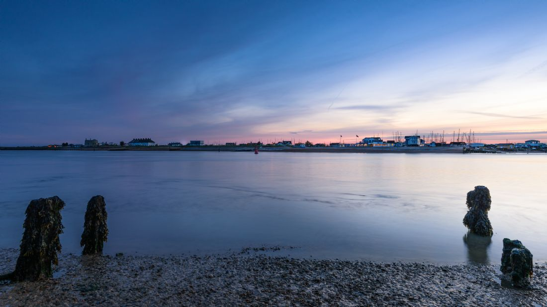 Nick Rowland | Felixstowe Ferry After Sunset