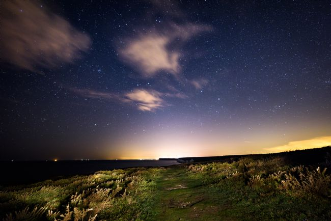 Nick Rowland | Starry Night at the Seven Sisters