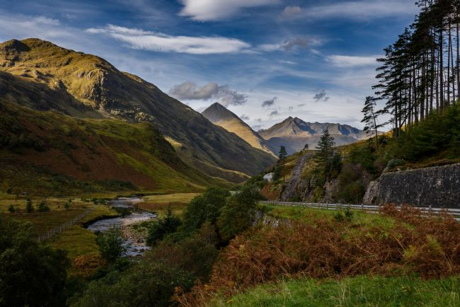 Nick Rowland | Glen Shiel and the Five Sisters of Kintail
