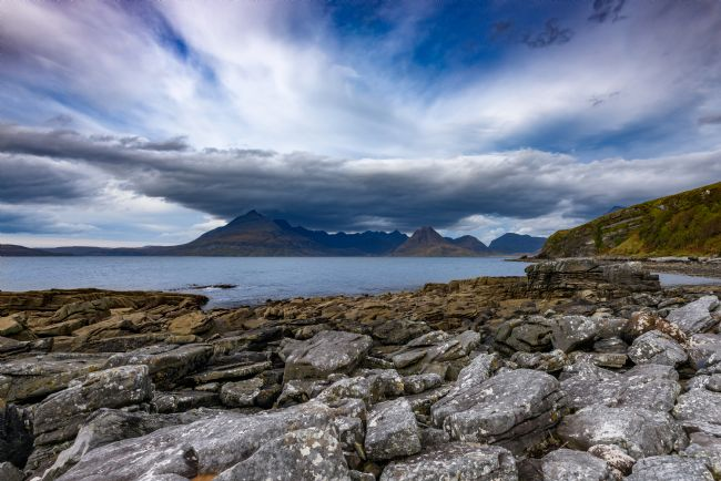 Nick Rowland | The Black Cuillins From Elgol Beach