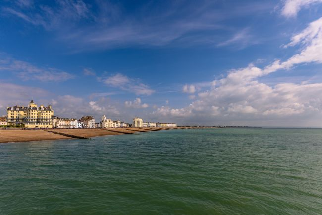 Nick Rowland | Eastbourne Sea Front Looking East