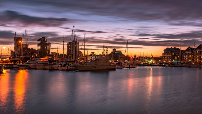 Nick Rowland | Ipswich Waterfront After Dark