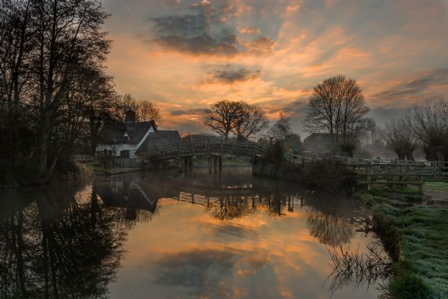 Nick Rowland | Sunrise over Bridge Cottage