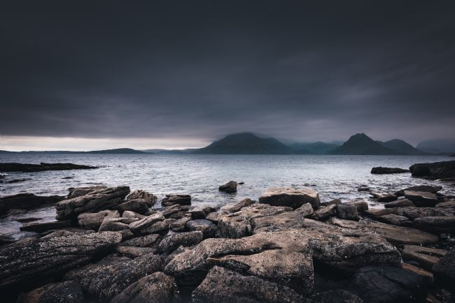Nick Rowland | The Black Cullins from Elgol Beach