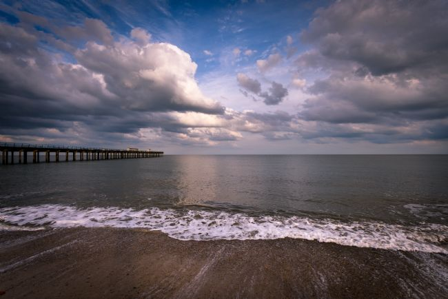 Nick Rowland | Clouds over Felixstowe Pier