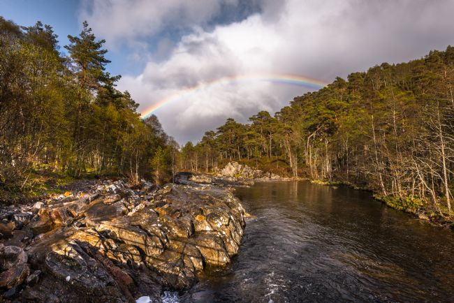 Nick Rowland | Rainbow over the River Affric