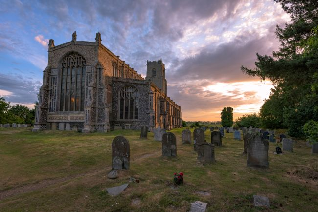 Nick Rowland | Holy Trinity Church Blythburgh Sunset