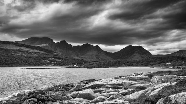 Nick Rowland | Blà Bheinn [Blaven] from the shoreline of Loch Slapin at Torrin