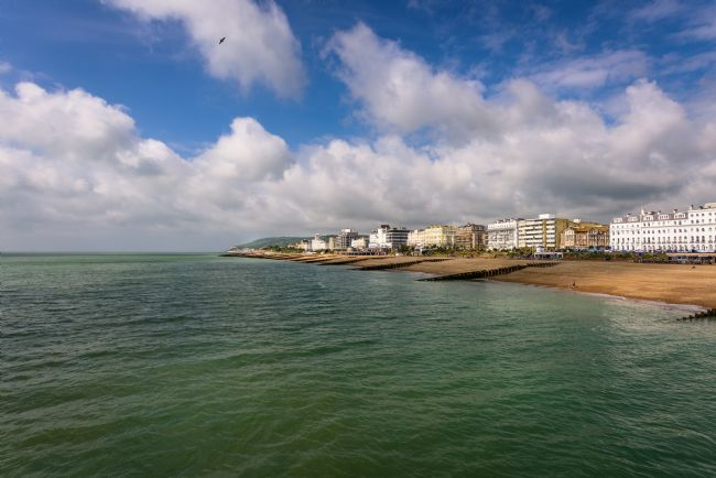 Nick Rowland | Eastbourne Seafront Looking West