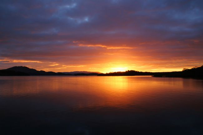 David Richardson | Loch Lomond sunrise in Orange