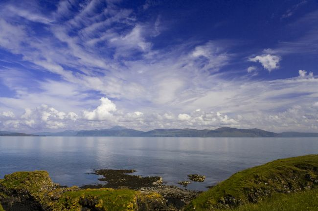 David Richardson | Mull landscape from Staffa