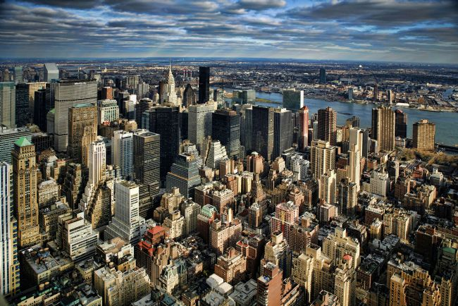 David Richardson | Manhattan from Empire State Building