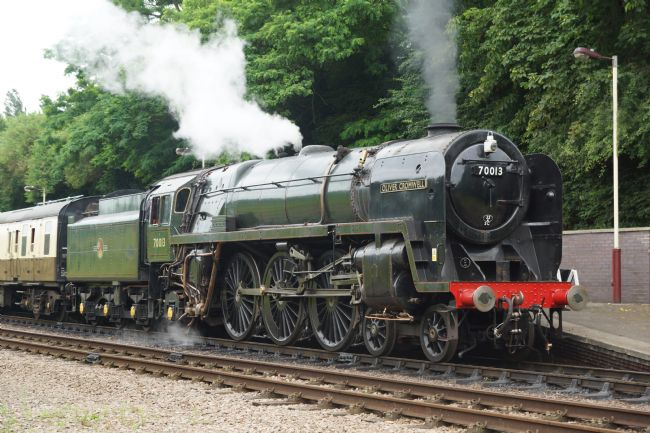 David Birchall | Preserved steam locomotive 70013 Oliver Cromwell