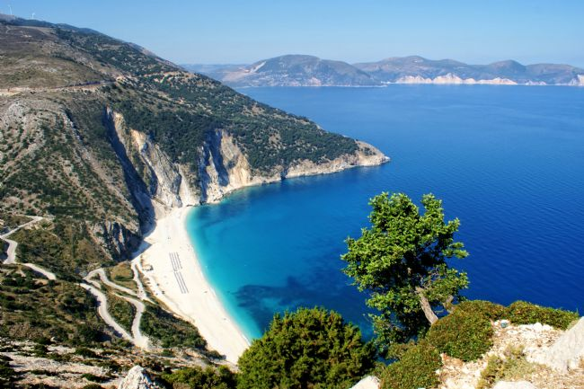 David Birchall | View to Myrtos Beach in Kefalonia.