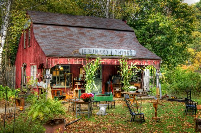 David Birchall | Rustic Country Store in New England