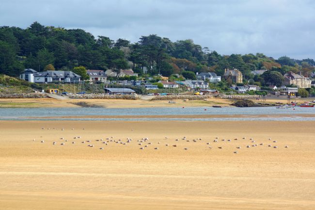 David Birchall | View from Padstow to Rock, Cornwall