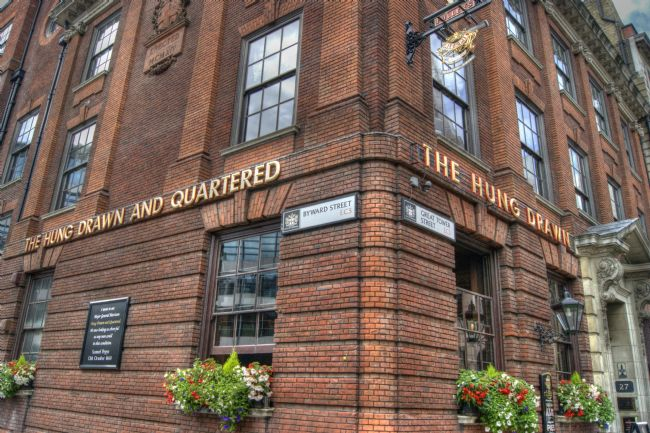 David Birchall | The Hung Drawn and Quartered pub in London