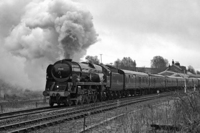 David Birchall | Preserved steam locomotive 35018 British India Line