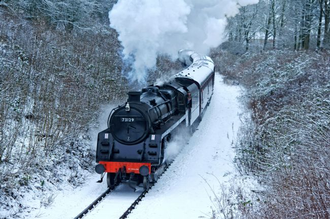 David Birchall | Winter Steam.