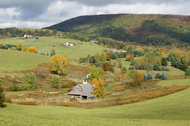 David Birchall | Autumn in Rural New England