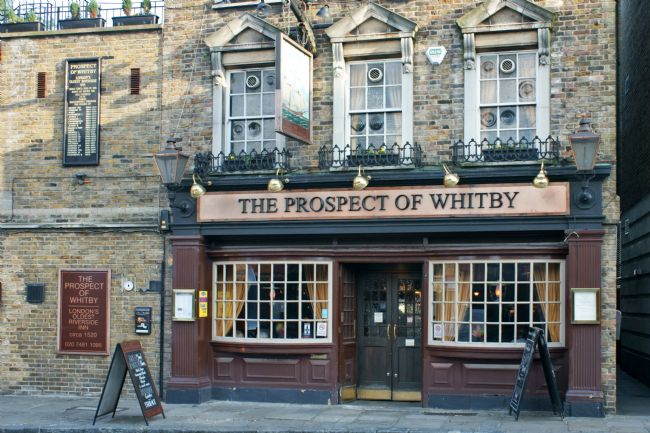 David Birchall | The Prospect Of Whitby pub in London.