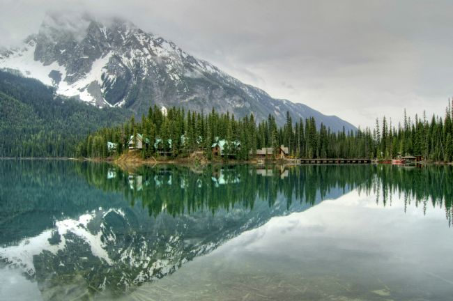 David Birchall | Reflections on Emerald Lake, Canada.