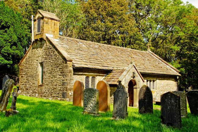 David Birchall | St. Leonards church at Chapel-le-Dale, Yorkshire