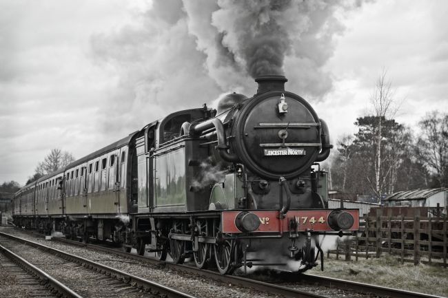 David Birchall | Steam locomotive class N2 1744