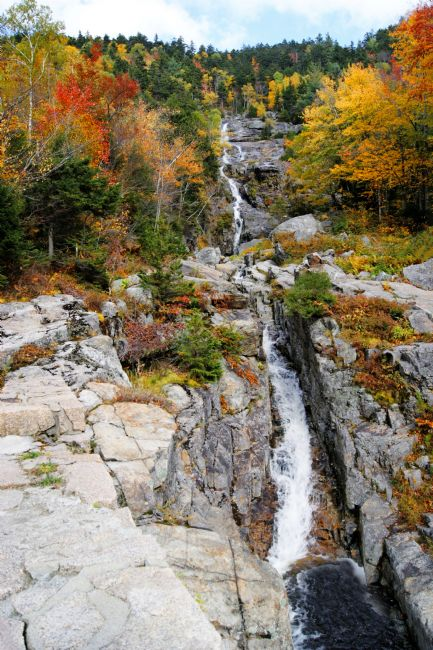 David Birchall | Silver Cascade Waterfall, New Hampshire