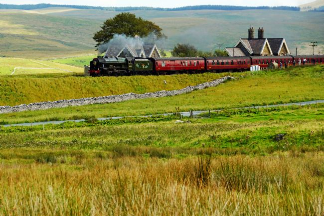 David Birchall | 46115 Scots Guardsman at Ribblehead.