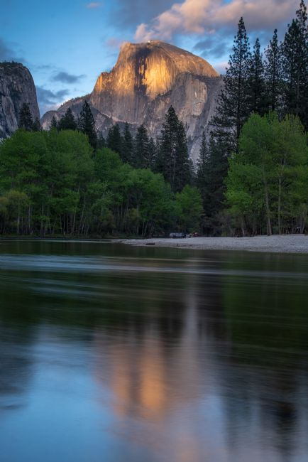 Robert Small | Half Dome in the last rays of sunset