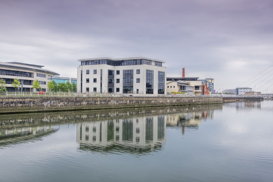 Hugh Gillings | Swansea Marina Reflection