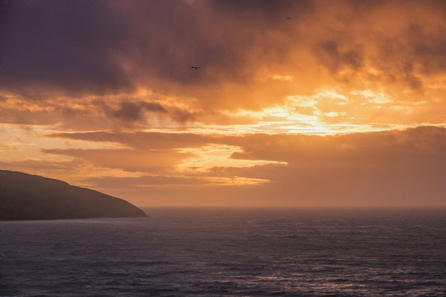 Hugh Gillings | Sunset over Cardigan Bay