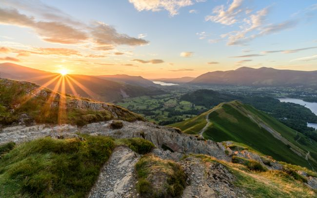 Thomas Green | Catbells Sunset