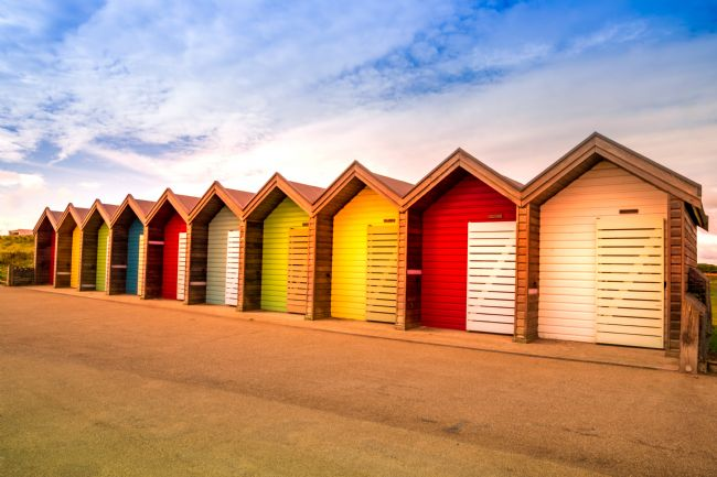 Robert Barnes | Beach Hut Colours