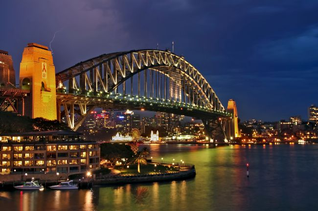 Kaye Menner | Sydney Harbour Bridge by Night