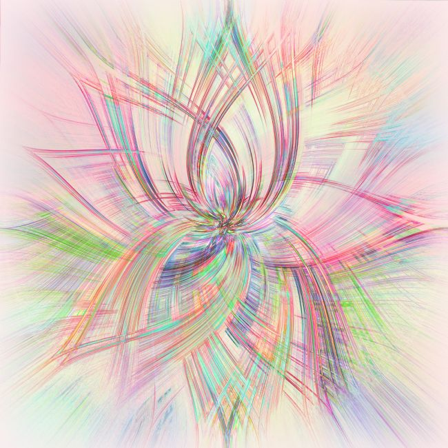 Kaye Menner | Pastel Spring Abstract